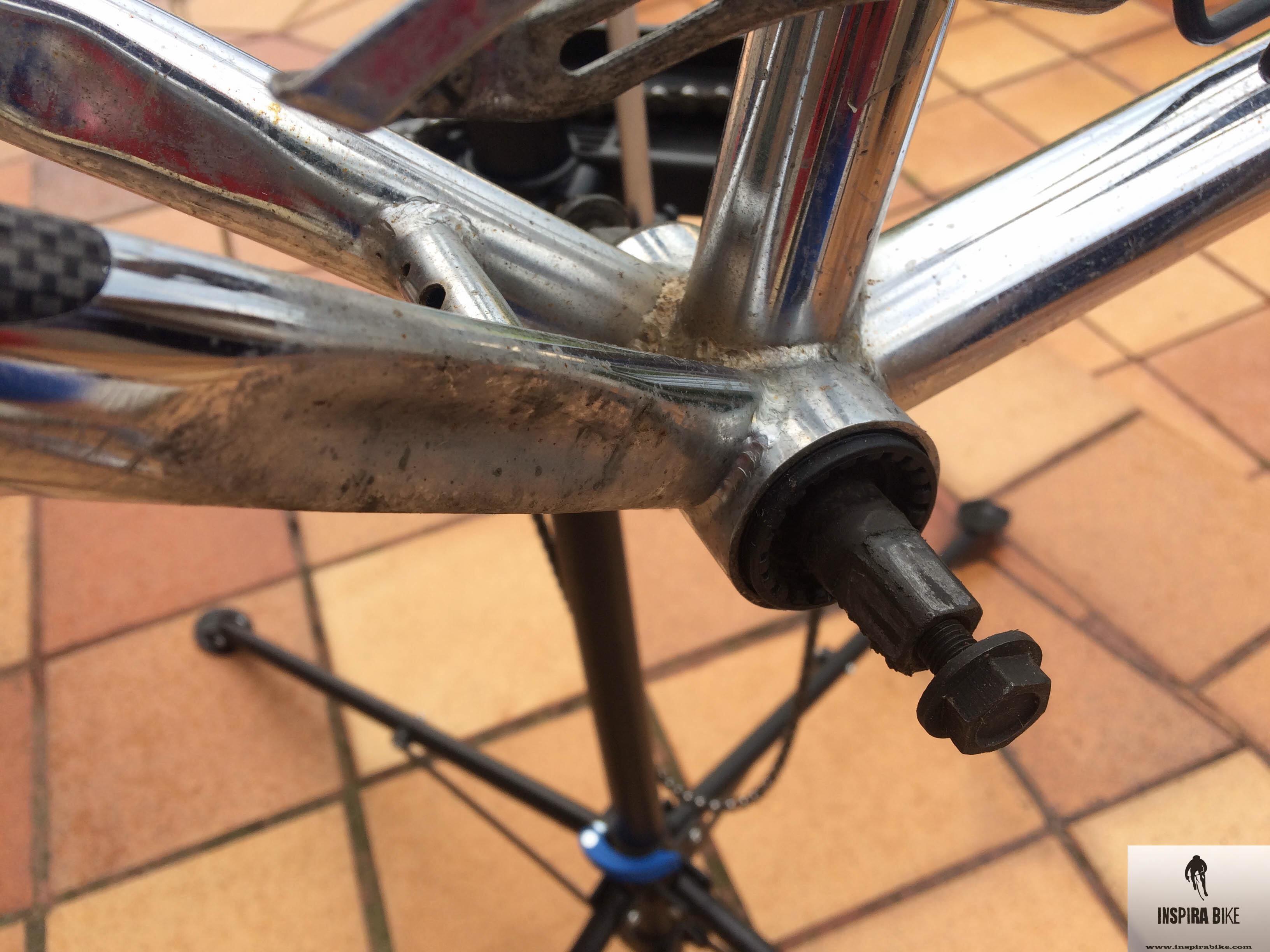 Limpiar cuadro cromado – Sunn 4003R – Inspira Bike